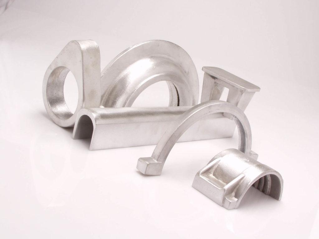 Odlewy formowane (piaskowe) ze stopów aluminium, mosiądzu i brązu